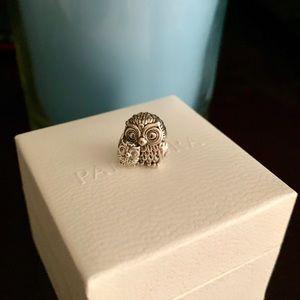 Pandora Owl Charm